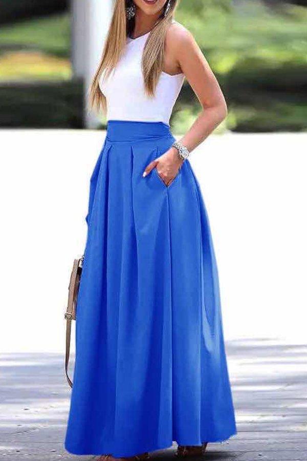 ΦΟΥΣΤΕΣ Melanie φούστα μπλε