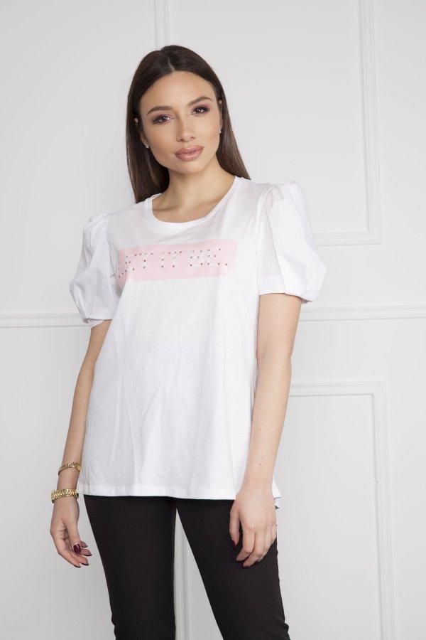 TSHIRTS Karina t-shirt λευκό