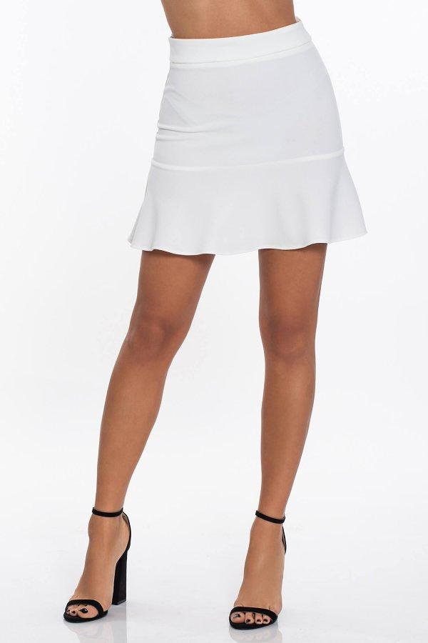 ΦΟΥΣΤΕΣ Jentaya φούστα λευκό