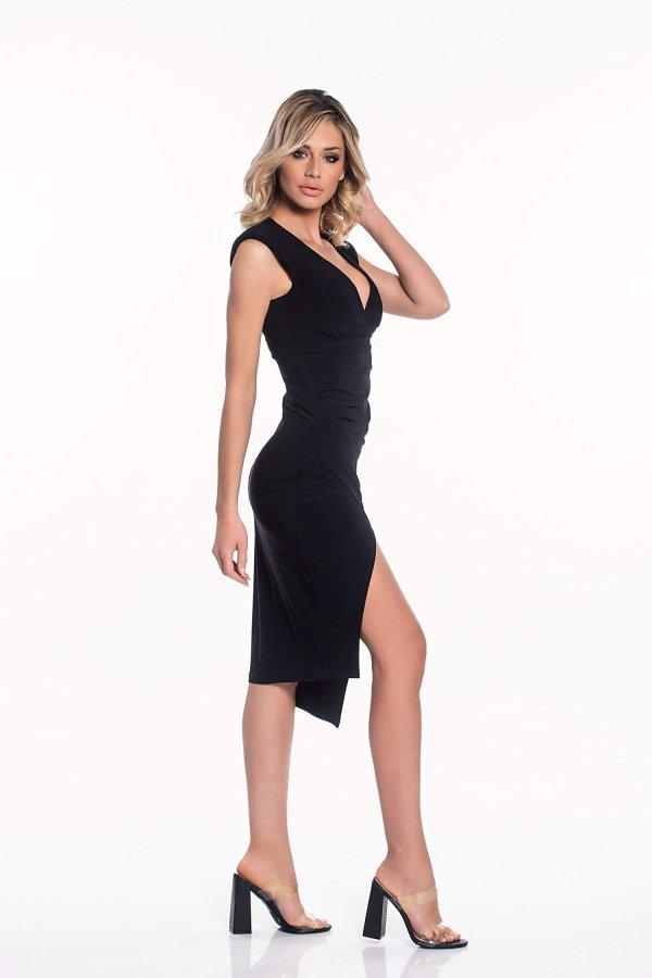 ΜΙΝΤΙ ΦΟΡΕΜΑΤΑ Brynlee φόρεμα μαύρο