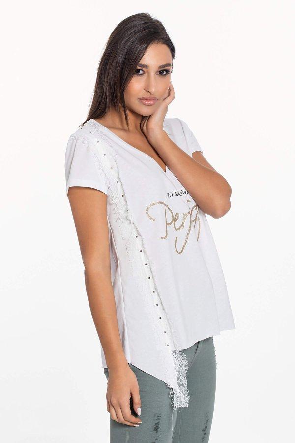 Alger t-shirt λευκό