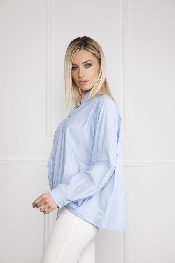 ΜΠΛΟΥΖΕΣ Florence μπλούζα σιελ