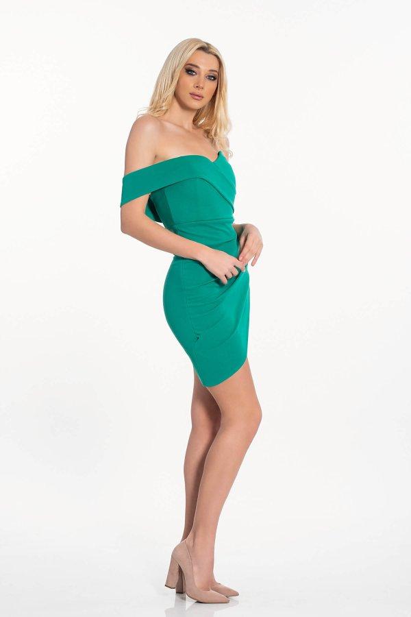 Amoret φόρεμα πράσινο