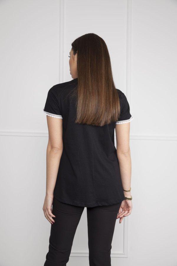 TSHIRTS Katy t-shirt μαύρο