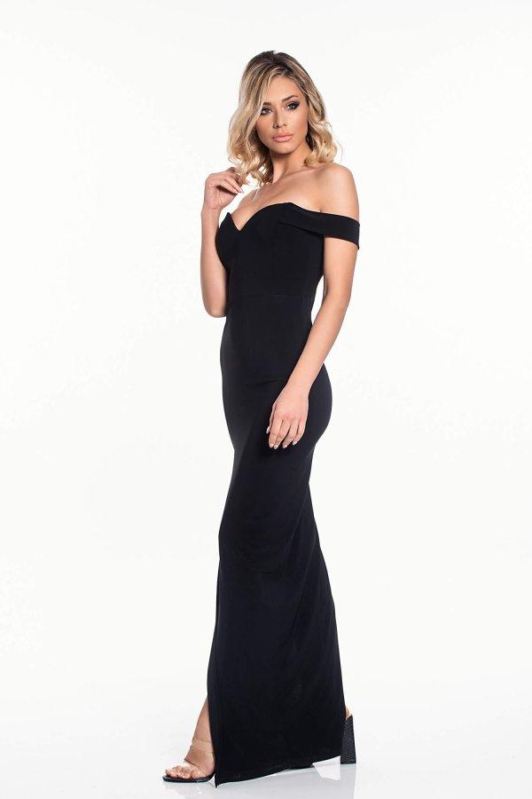 ΜΑΞΙ ΦΟΡΕΜΑΤΑ Presley φόρεμα μαύρο