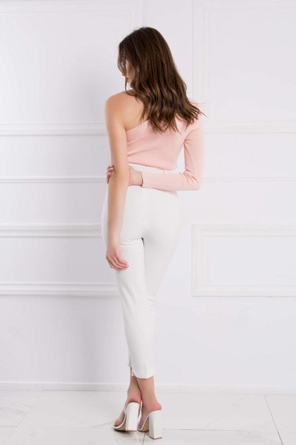 ΠΑΝΤΕΛΟΝΙΑ Violet παντελόνι λευκό
