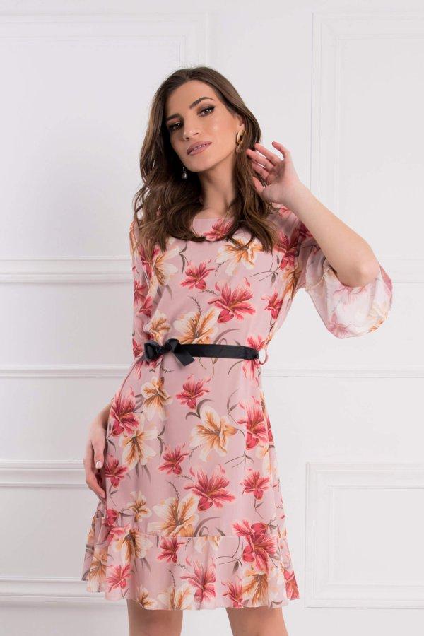 ΜΙΝΤΙ ΦΟΡΕΜΑΤΑ Caprice φόρεμα ροζ