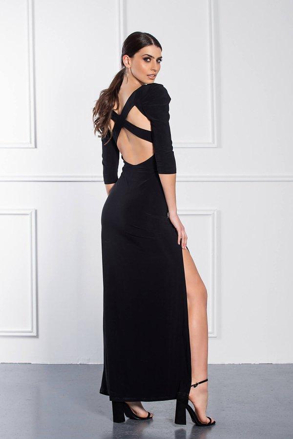 ΜΑΞΙ ΦΟΡΕΜΑΤΑ Debby φόρεμα μαύρο