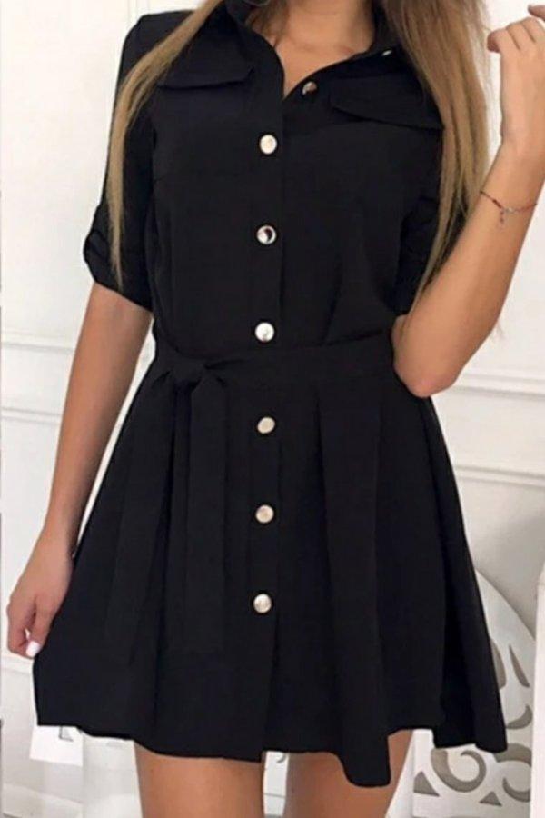 ΦΟΡΕΜΑΤΑ Charis φόρεμα μαύρο