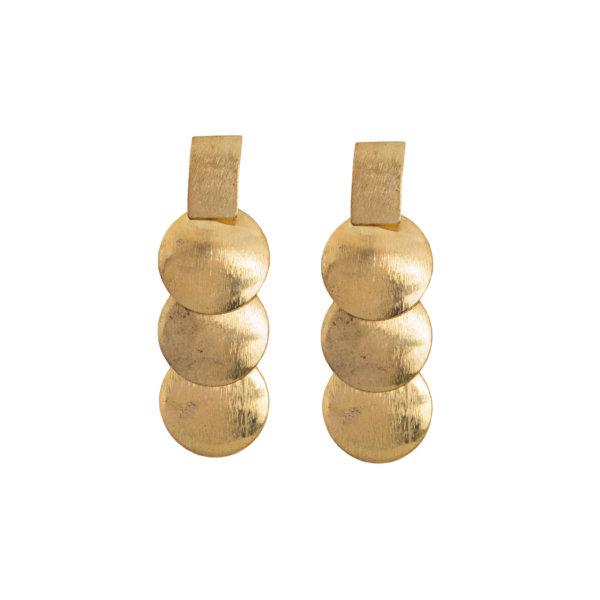 ΑΞΕΣΟΥΑΡ Mariposa σκουλαρίκια χρυσό