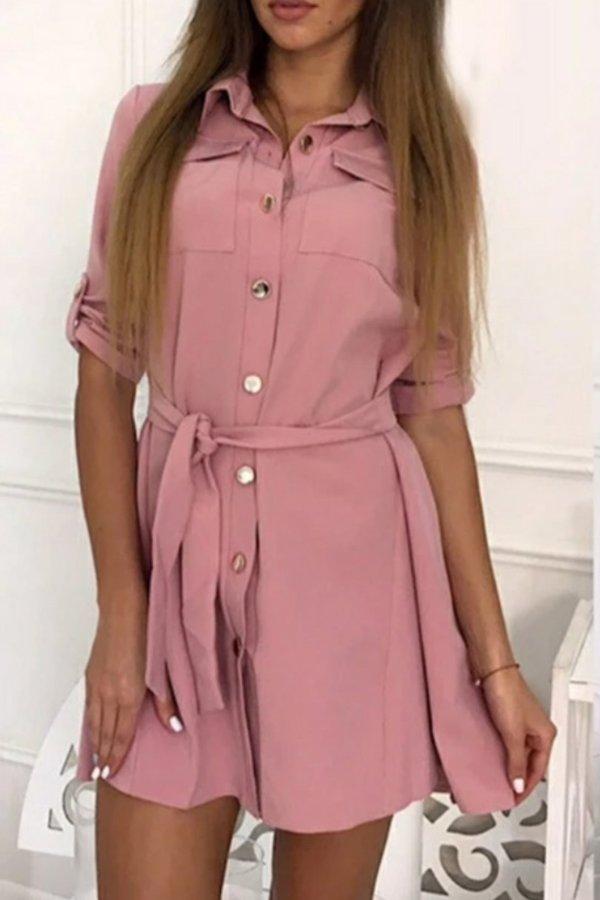 ΦΟΡΕΜΑΤΑ Charis φόρεμα ροζ