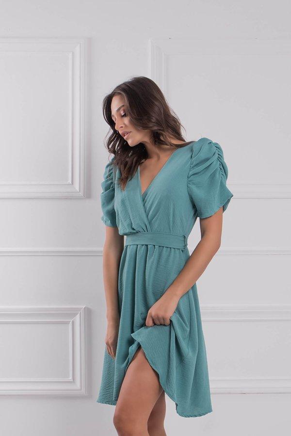ΦΟΡΕΜΑΤΑ Seniora φόρεμα μέντα
