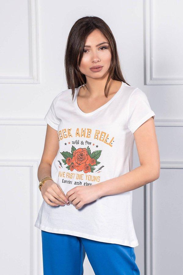 TSHIRTS Deneb t-shirt λευκό