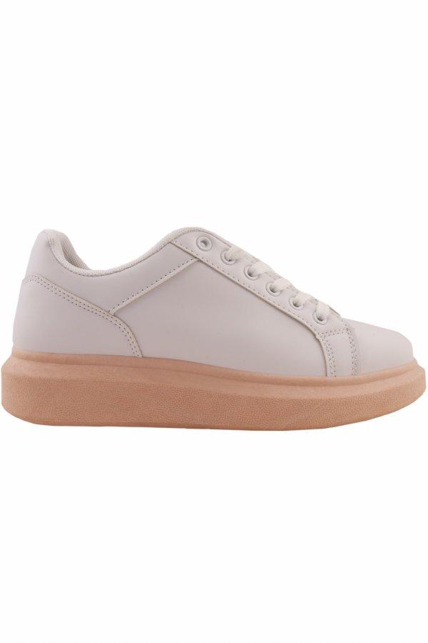 ΑΘΛΗΤΙΚΑ Muneca sneakers κοραλί