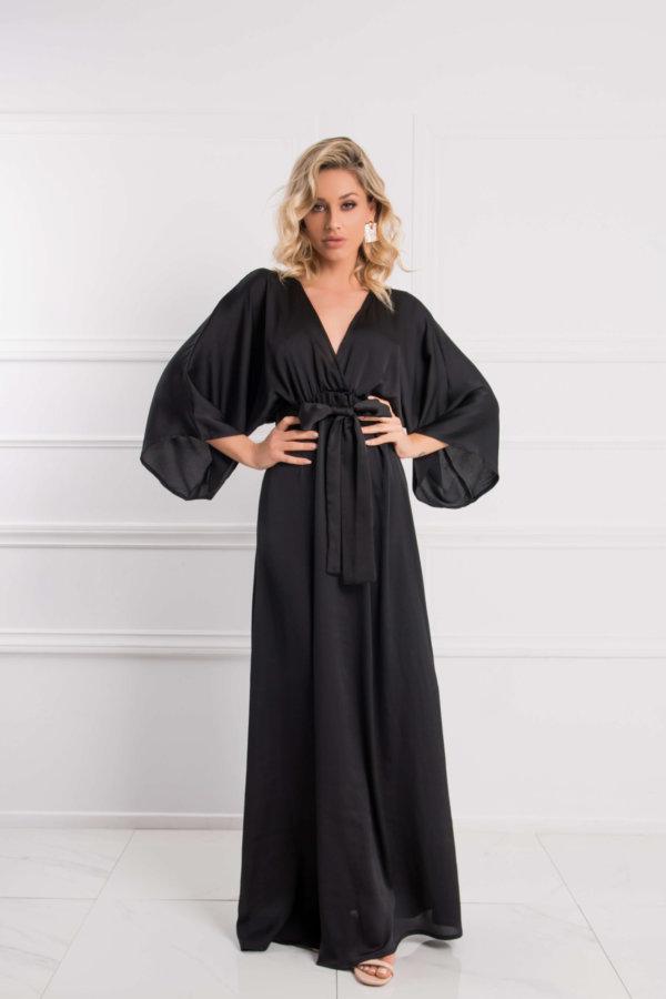 ΜΑΞΙ ΦΟΡΕΜΑΤΑ Gertrude φόρεμα μαύρο