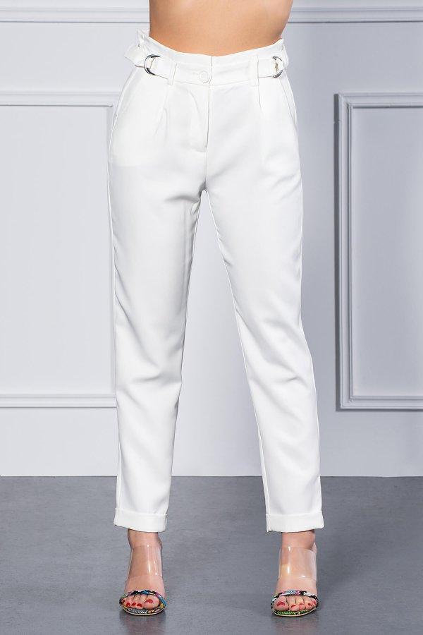 ΠΑΝΤΕΛΟΝΙΑ Gusta παντελόνι λευκό