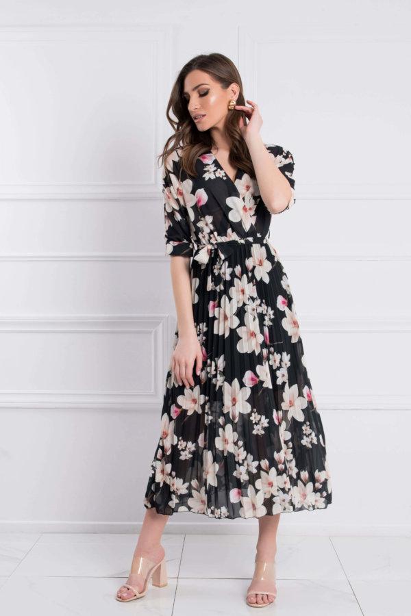ΝΕΕΣ ΑΦΙΞΕΙΣ Blueberry φόρεμα μαύρο
