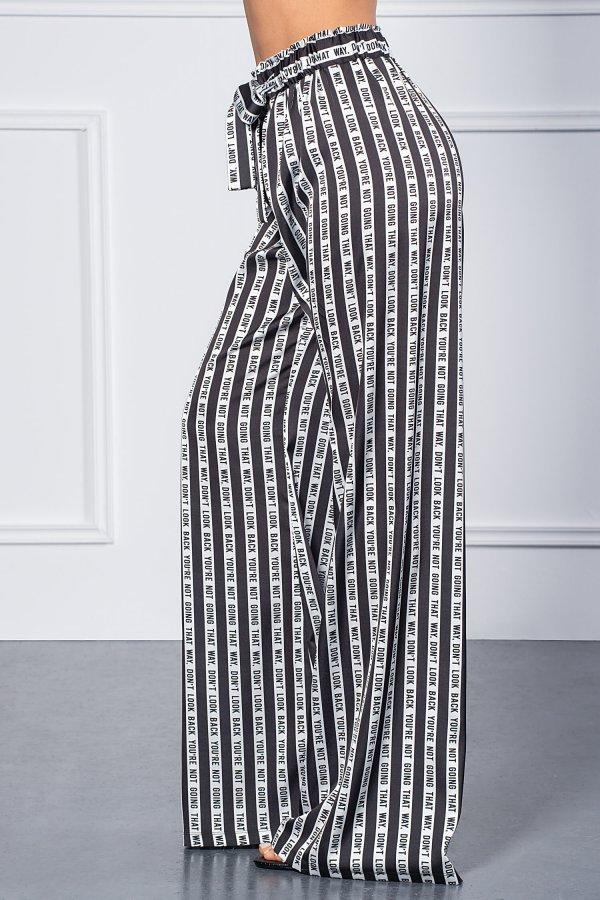 ΠΑΝΤΕΛΟΝΙΑ Mima παντελόνι μαύρο