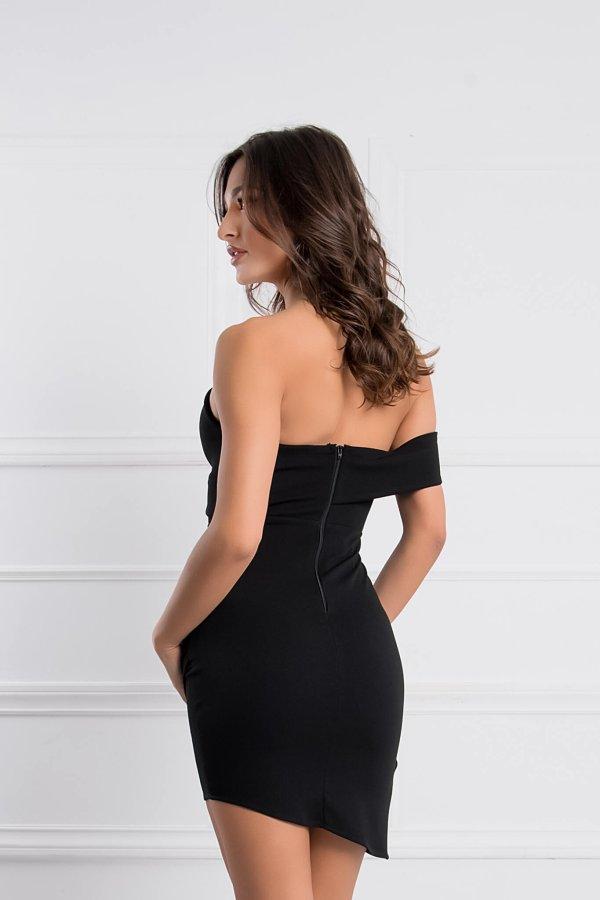 ΠΡΟΣΦΟΡΕΣ Amoret φόρεμα μαύρο