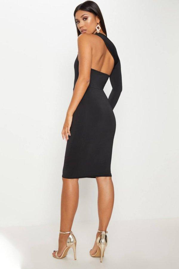 ΜΙΝΤΙ ΦΟΡΕΜΑΤΑ Abner φόρεμα μαύρο