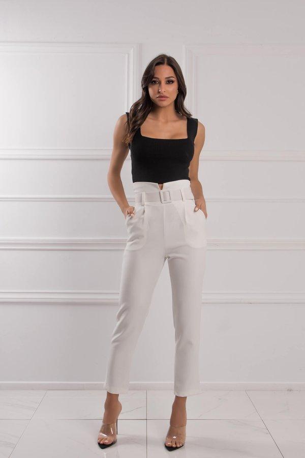 CROP ΤΟΠ Blanc μπλούζα μαύρο