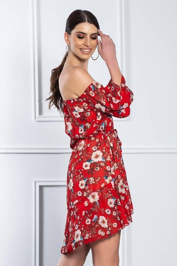 ΦΟΡΕΜΑΤΑ Nuria φόρεμα κόκκινο