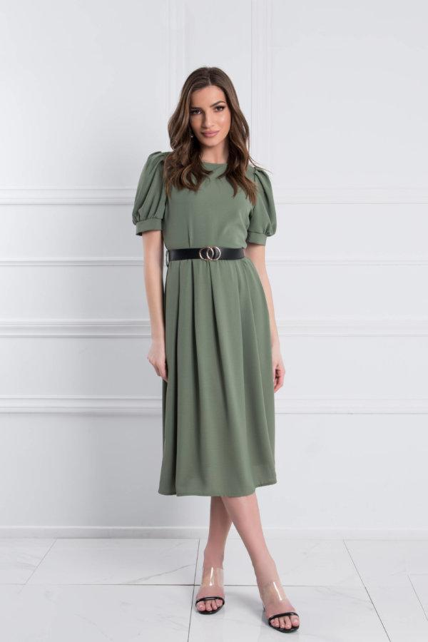 ΜΙΝΤΙ ΦΟΡΕΜΑΤΑ Aquilla φόρεμα λαδί
