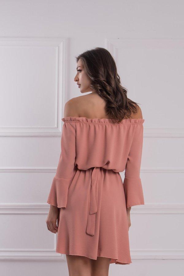 ΜΙΝΙ ΦΟΡΕΜΑΤΑ Fabrizia φόρεμα σομόν