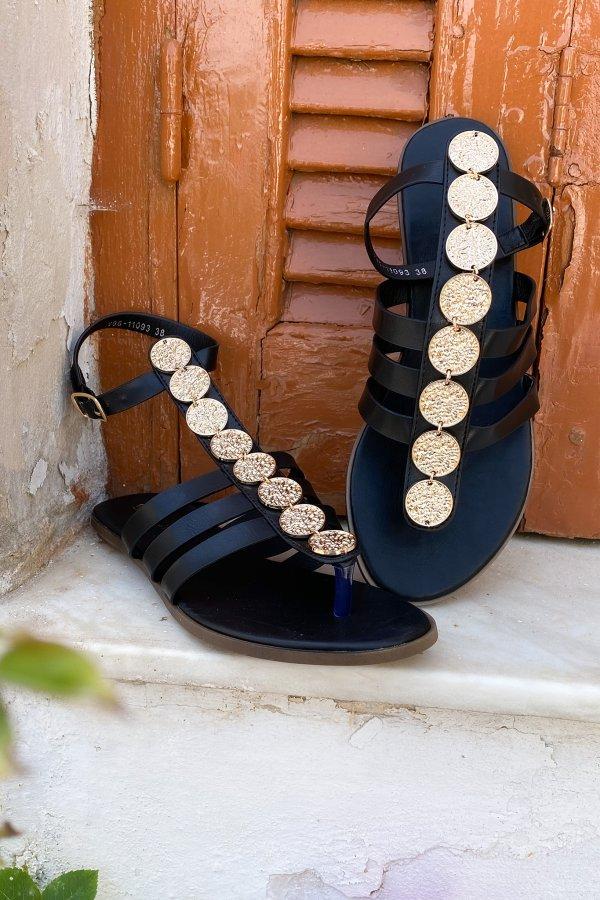 Adalyn σανδάλια μαύρο