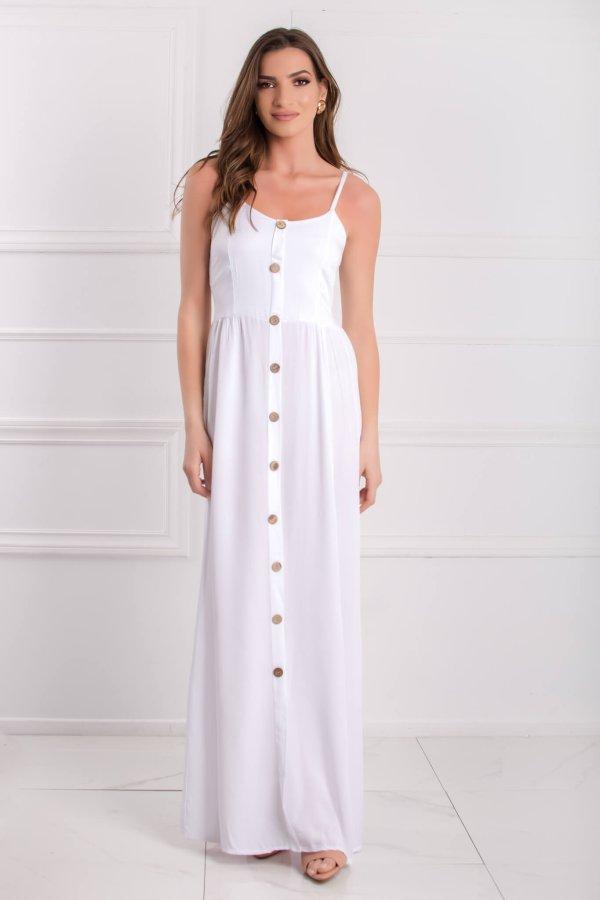 ΦΟΡΕΜΑΤΑ Alabama φόρεμα λευκό