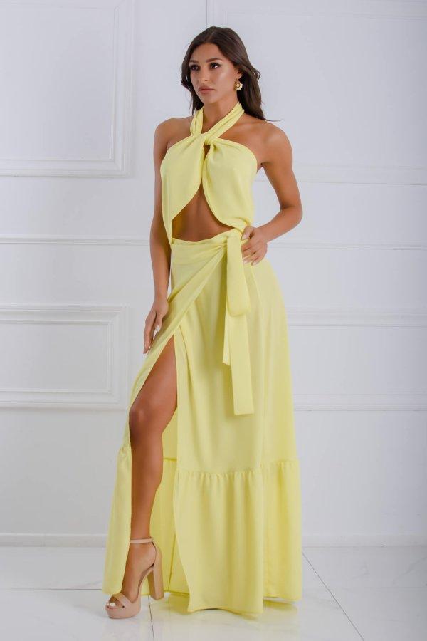 ΦΟΥΣΤΕΣ Kari φούστα κίτρινο