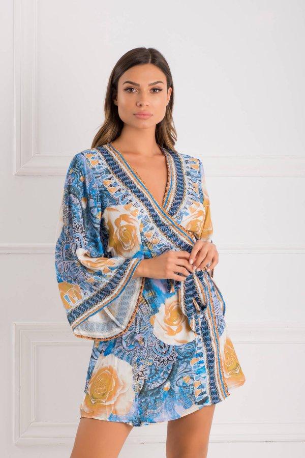 BEACHWEAR Sunny φόρεμα μπλε