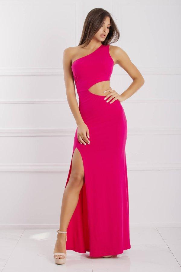 Aleza φόρεμα φούξια