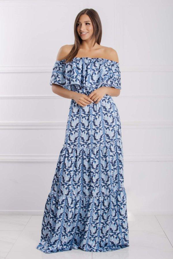 Alipha φόρεμα μπλε