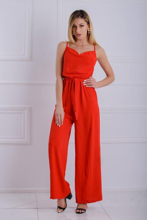 ΟΛΟΣΩΜΕΣ ΦΟΡΜΕΣ Nadia ολόσωμη φόρμα κόκκινο