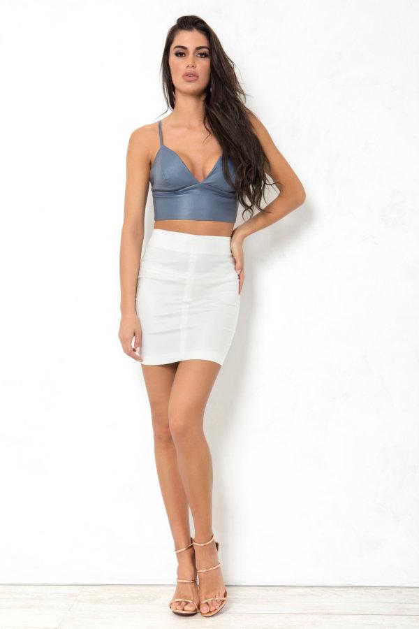 Alexis φούστα λευκό