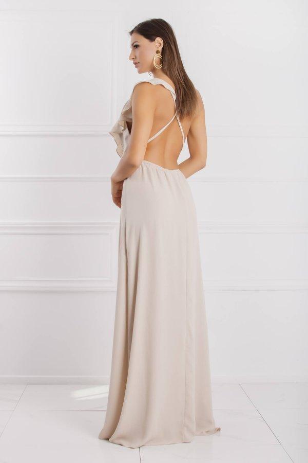 Alanza φόρεμα μπεζ