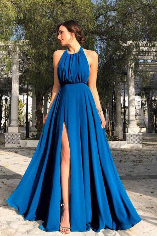 ΜΑΞΙ ΦΟΡΕΜΑΤΑ Mellany φόρεμα μπλε