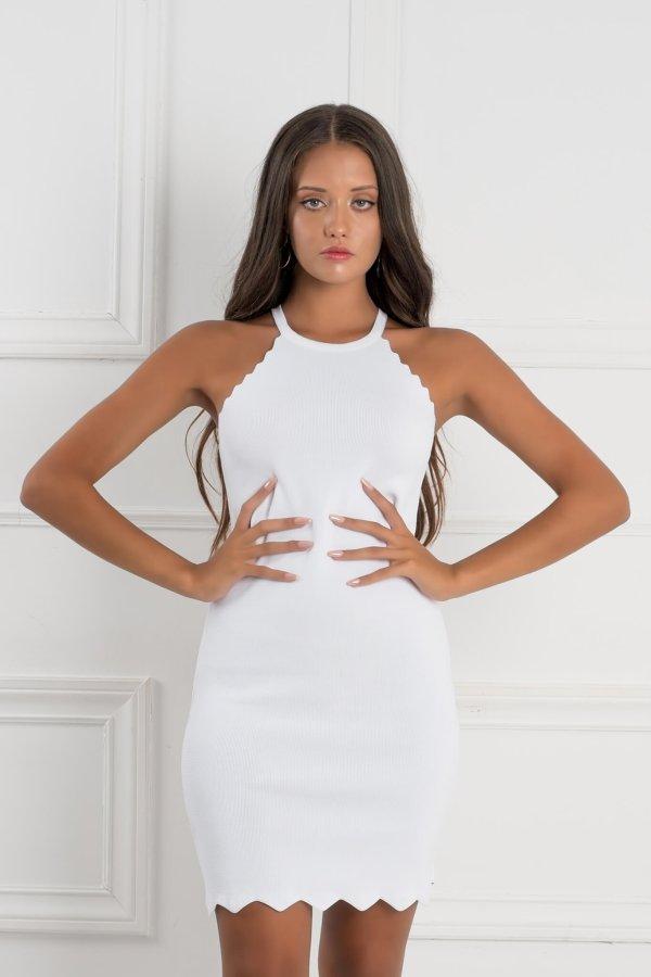 ΜΙΝΙ ΦΟΡΕΜΑΤΑ Saar φόρεμα λευκό