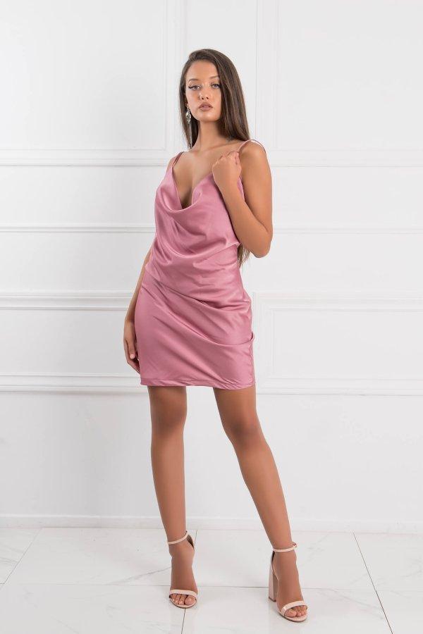 ΜΙΝΙ ΦΟΡΕΜΑΤΑ Alaina φόρεμα σάπιο μήλο