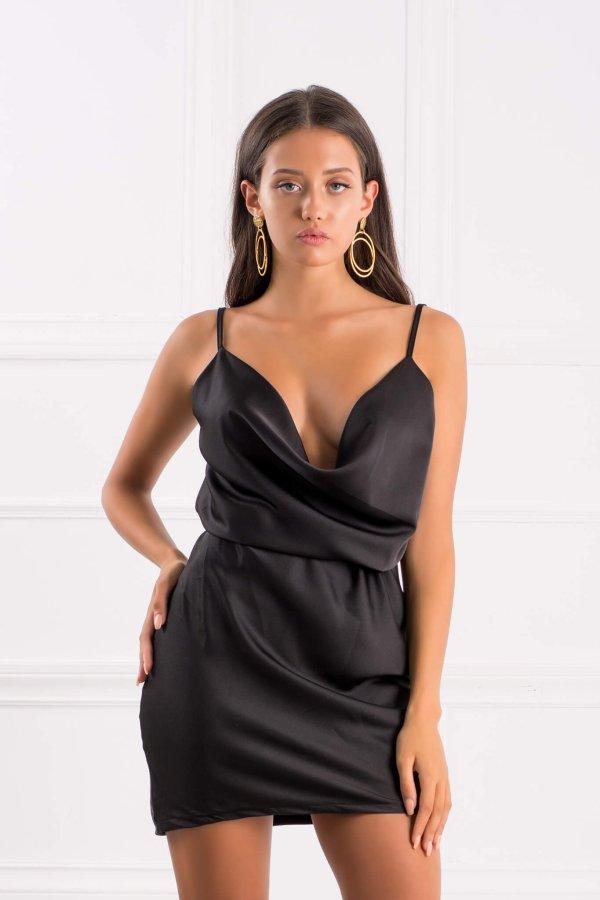 ΜΙΝΙ ΦΟΡΕΜΑΤΑ Alaina φόρεμα μαύρο