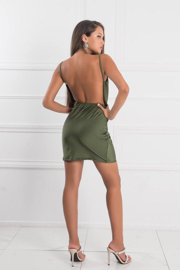 ΜΙΝΙ ΦΟΡΕΜΑΤΑ Alaina φόρεμα χακί