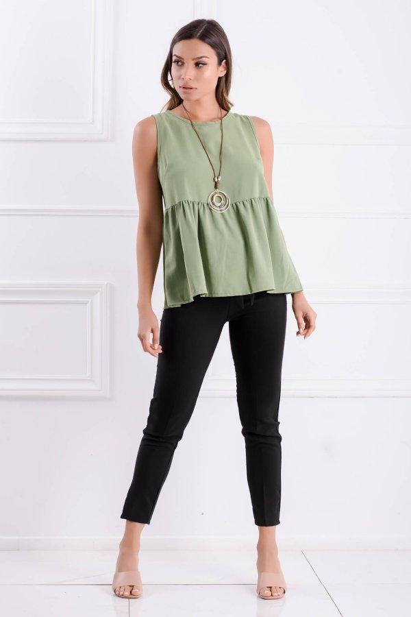 ΝΕΕΣ ΑΦΙΞΕΙΣ Manon μπλούζα πράσινο