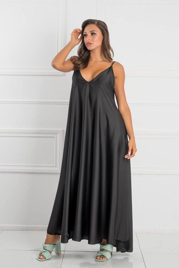 ΜΑΞΙ ΦΟΡΕΜΑΤΑ Mirage φόρεμα μαύρο