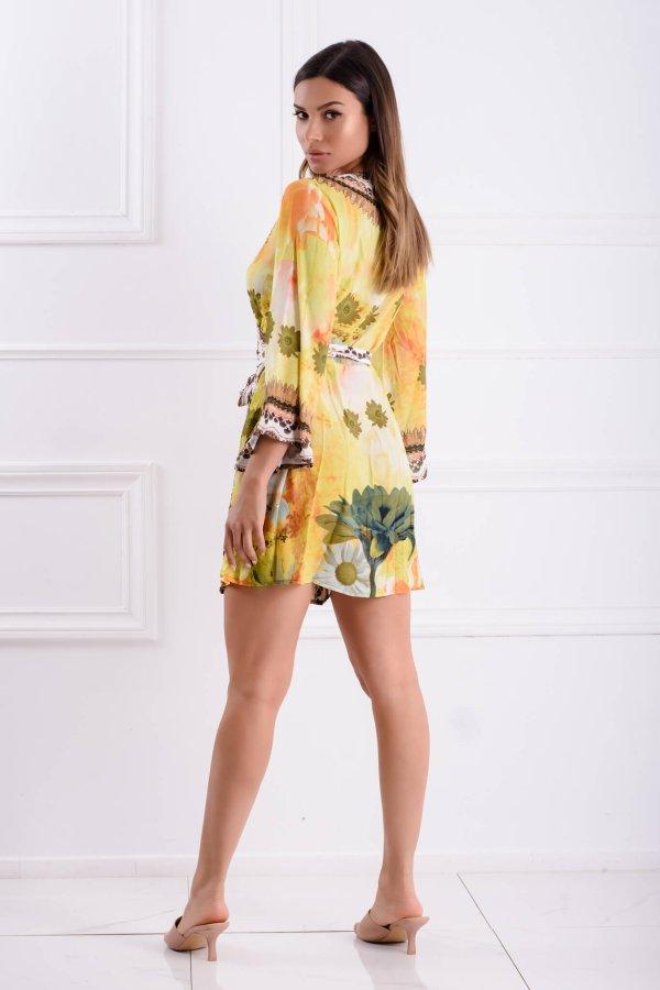 BEACHWEAR Sunny φόρεμα κίτρινο