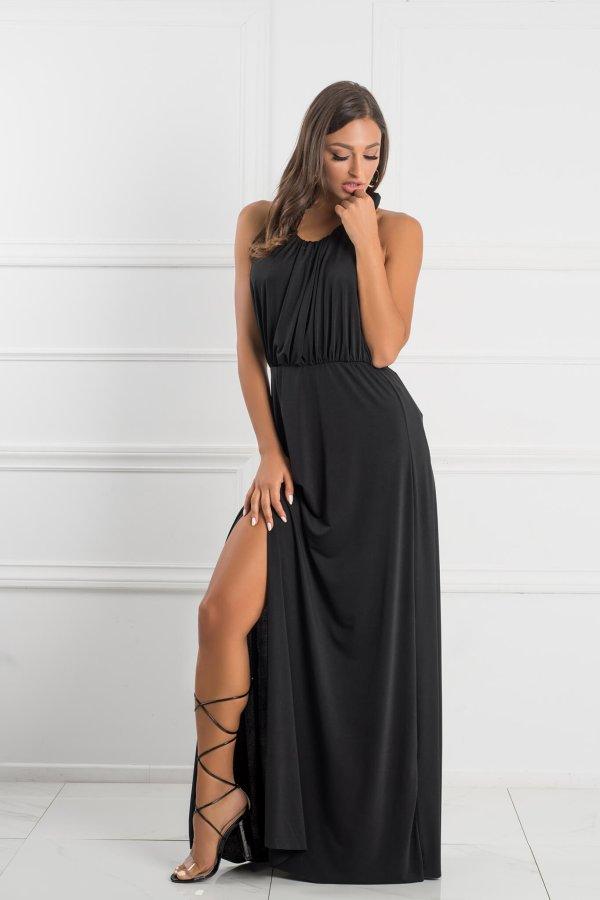 ΜΑΞΙ ΦΟΡΕΜΑΤΑ Mellany φόρεμα μαύρο