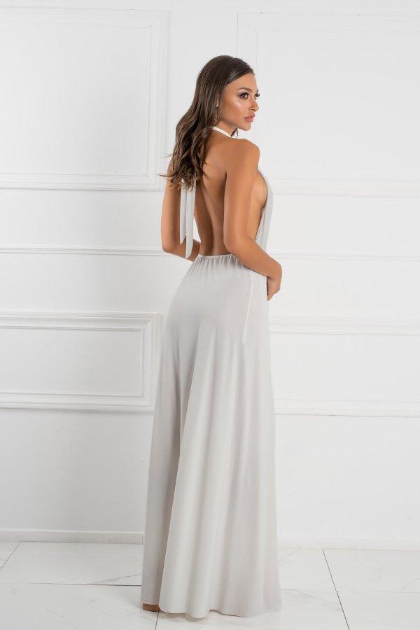 ΜΑΞΙ ΦΟΡΕΜΑΤΑ Mellany φόρεμα λευκό