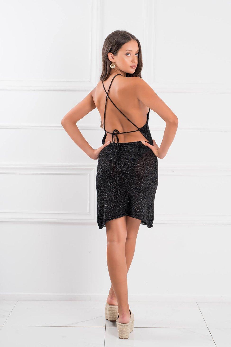 Publicity φόρεμα μαύρο