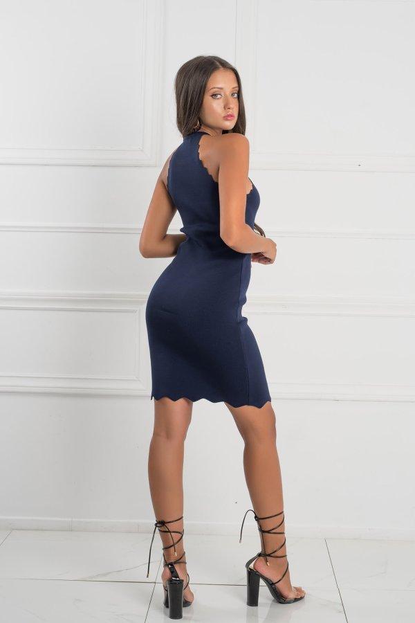 ΜΙΝΙ ΦΟΡΕΜΑΤΑ Saar φόρεμα μπλε σκούρο