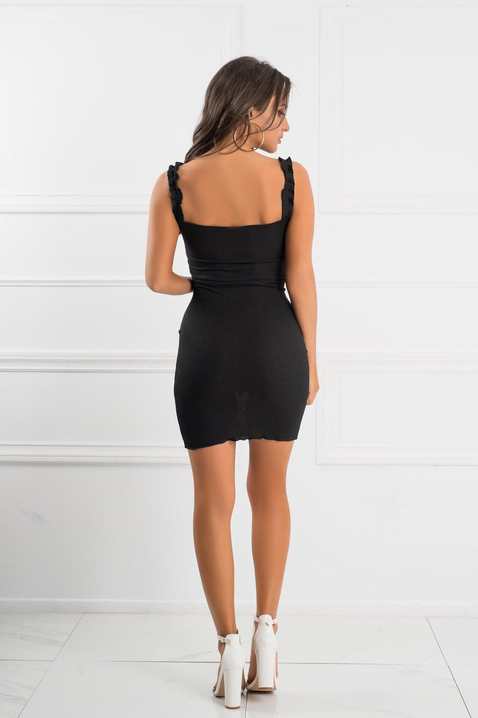 Daphne φόρεμα μαύρο